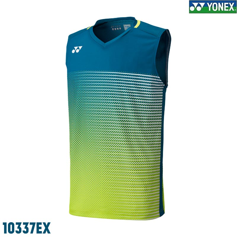 Yonex 10337EX Men's Tournament Sleeveless Top Dark Marine (10337EX-DKMR)