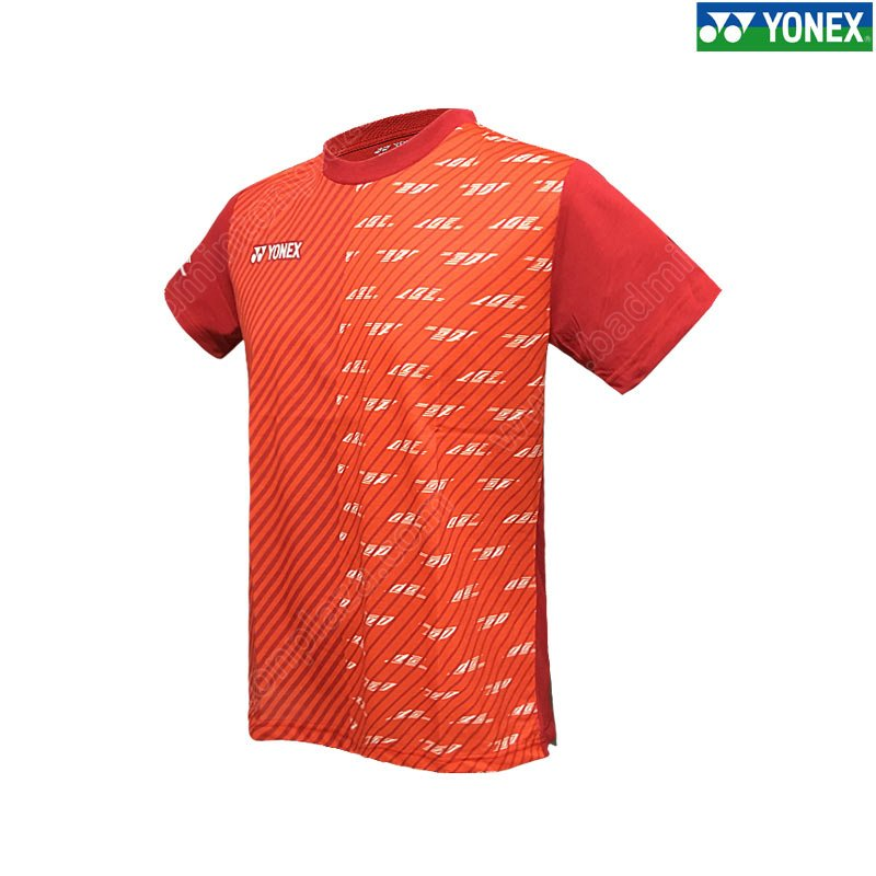 Lee Chong Wei Practice T-Shirt Dark Red (16420EX-D)