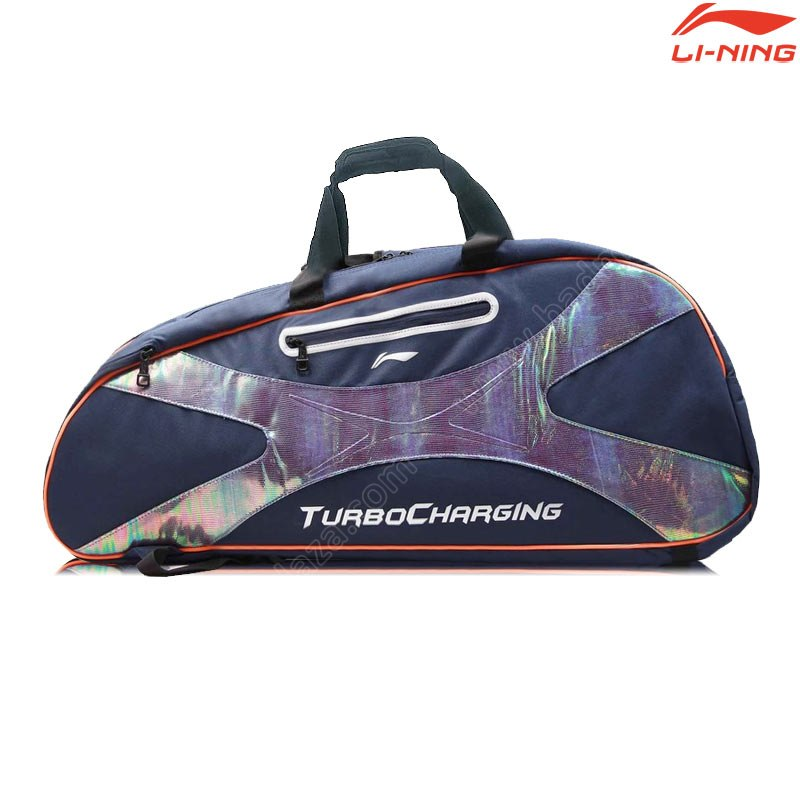 LI-NING 6 in 1 Racket Bag Navy (ABDC004-6)
