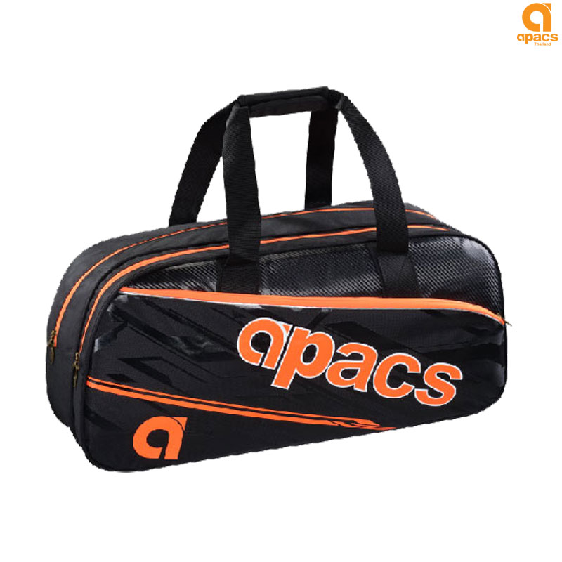 APACS Double Compartment Badminton Bag (AP-2530-OR)