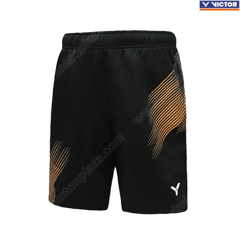 Victor Knitted Shorts Black/Orange (AR-9090CO)
