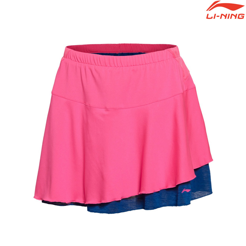 Li-Ning 2016 International Competitions Skirt Pink (ASKL034-5)