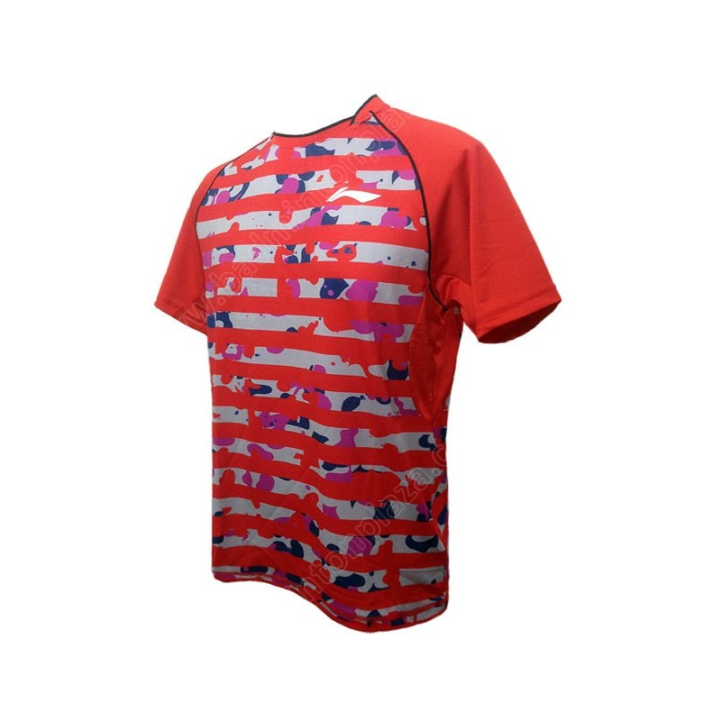 Li-Ning MEN ROUND NECK TEE (ATSK535-3)