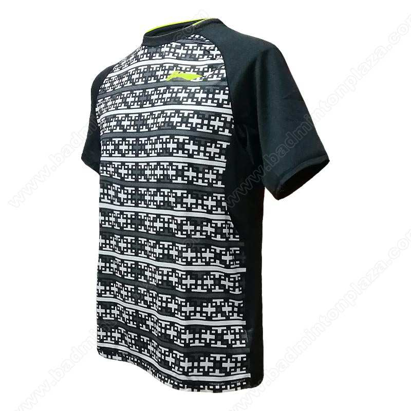 Li-Ning 2016 MEN ROUND NECK TEE (ATSL277-4)