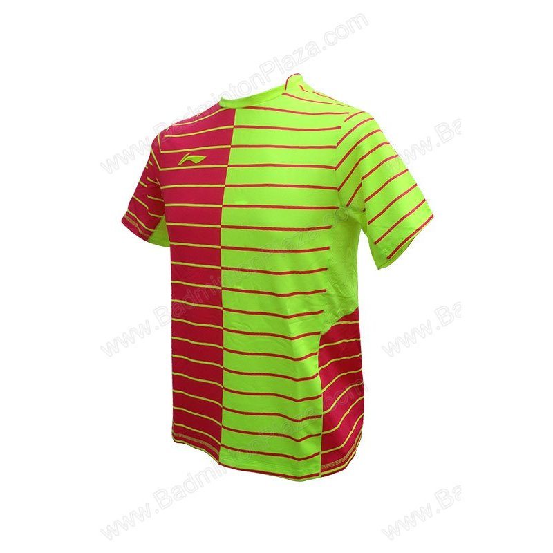 Li-Ning 2016 MEN ROUND NECK TEE (ATSL279-3)