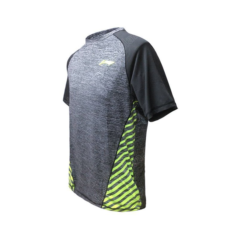 Li-Ning MEN ROUND NECK TEE (ATSL381-1)