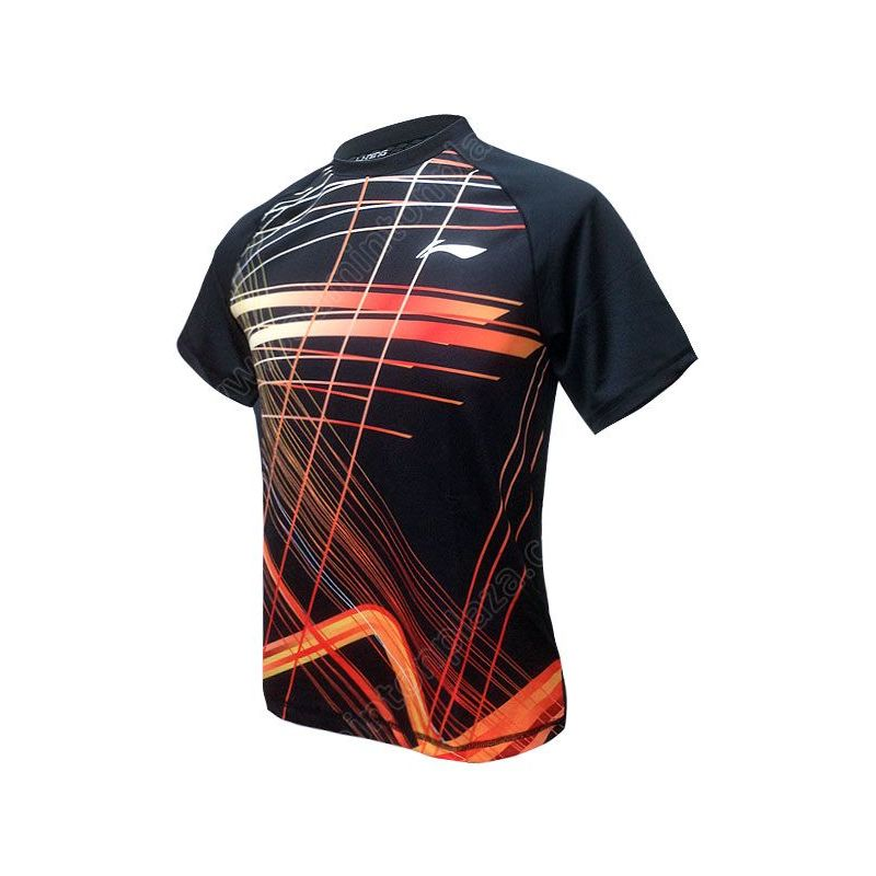 Li-Ning 2016 MEN ROUND NECK TEE (ATSL401-1)