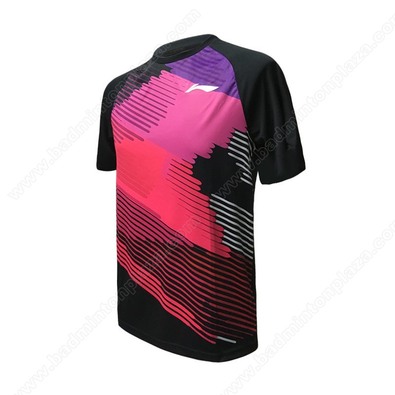 Li-Ning MEN ROUND NECK TEE (ATSM437-1)