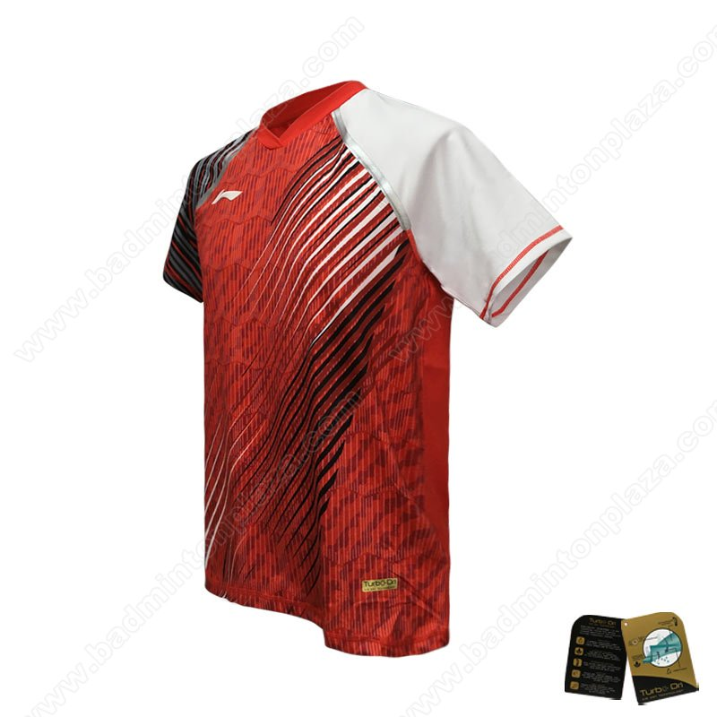 Li-Ning Thomas and Uber Cup 2018 Indonesia National Team T-Shirt (ATSN248-1)