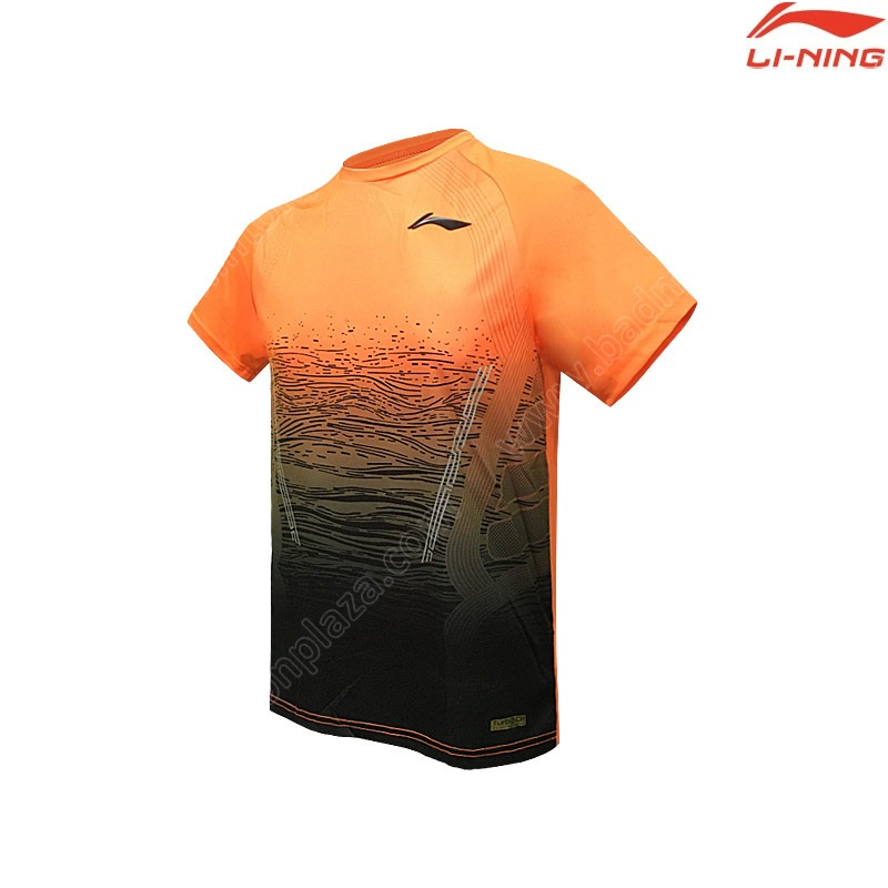 Li-Ning Men's Round Neck Tee Orange (ATSP382-2)