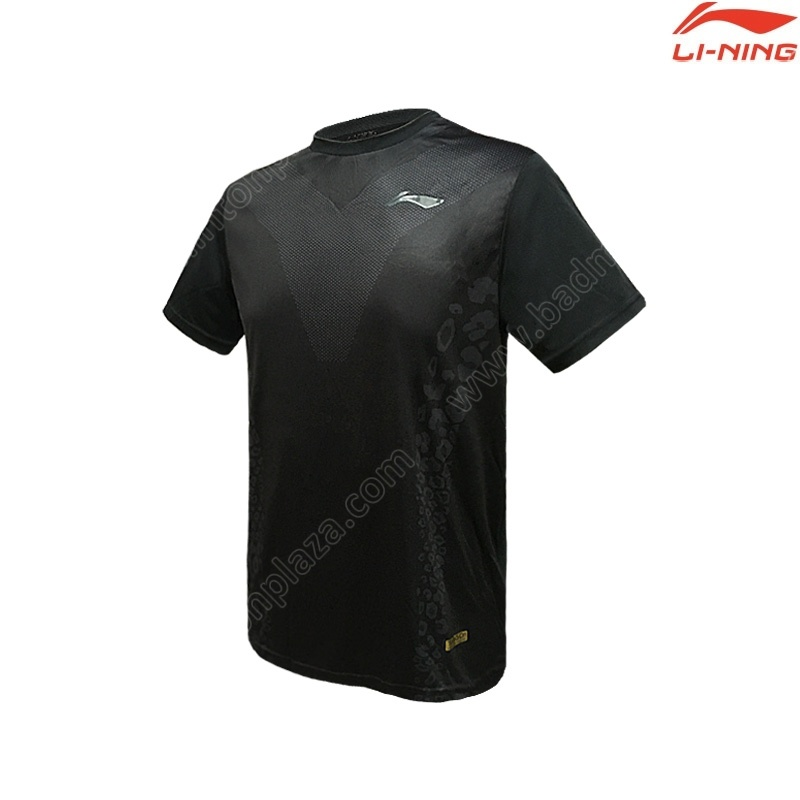 Li-Ning Men's Round Neck Tee Black (ATSP525-2)