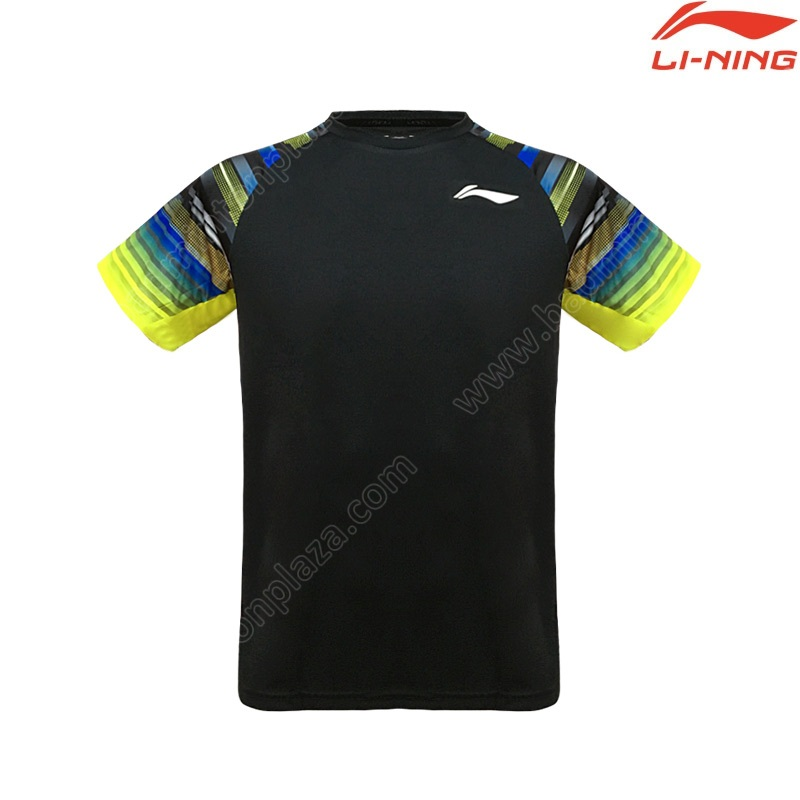 Li-Ning 2020 Men's Round Neck Tee Black (ATSP535-1)