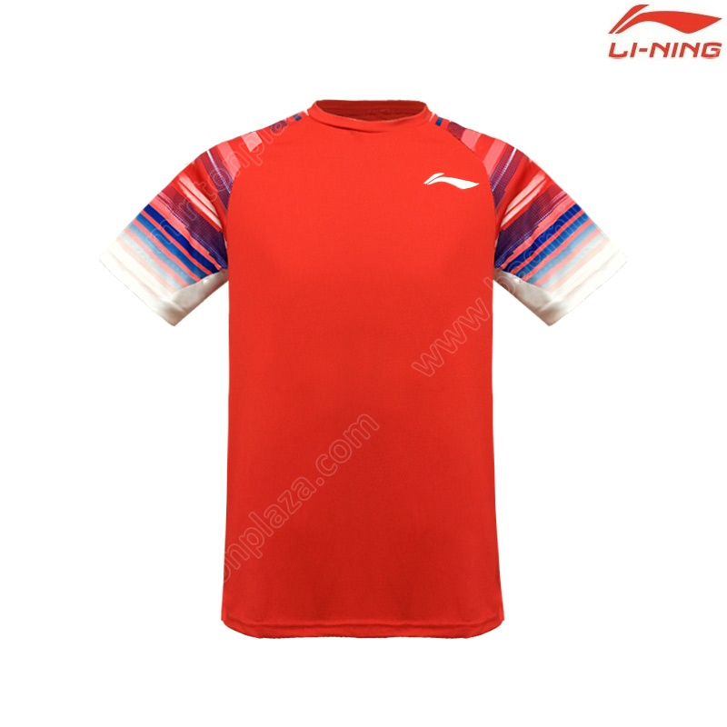 Li-Ning 2020 Men's Round Neck Tee Red (ATSP535-3)