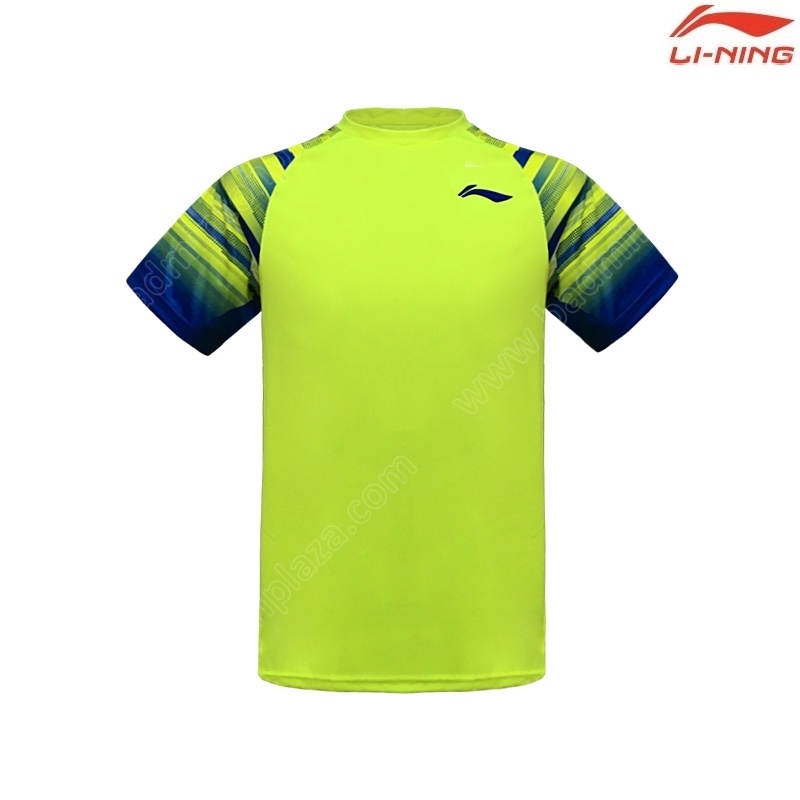 Li-Ning 2020 Men's Round Neck Tee Lime (ATSP535-4)