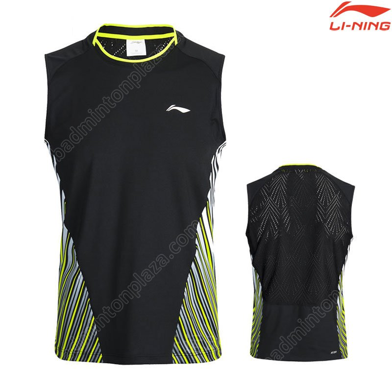 LI-NING 2018 Thomas-Uber Cup TD Men Sleeveless Tee (AVSN031-1)