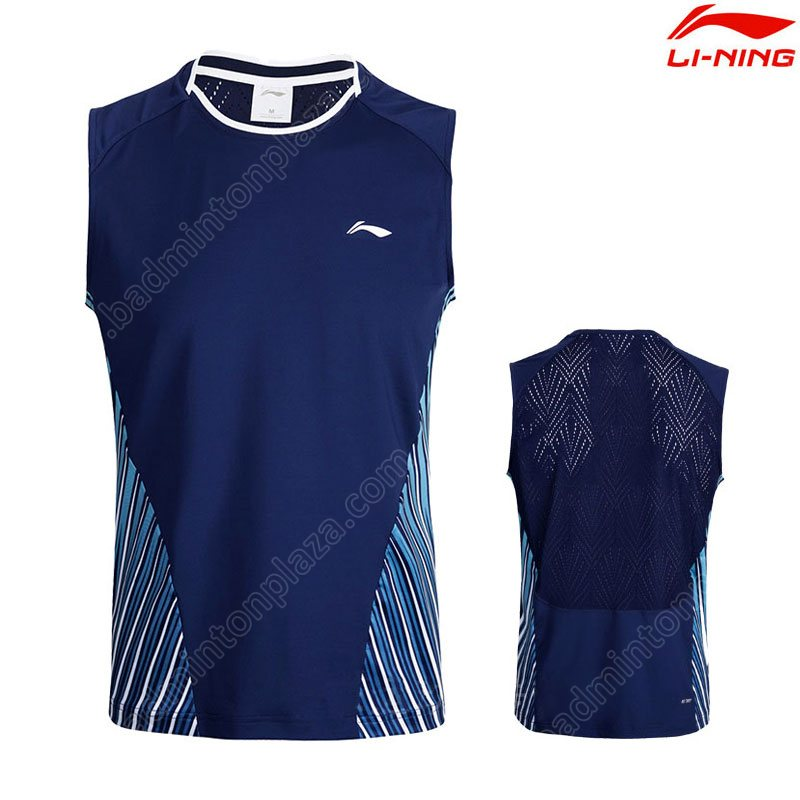 LI-NING 2018 Thomas-Uber Cup TD Men Sleeveless Tee (AVSN031-2)