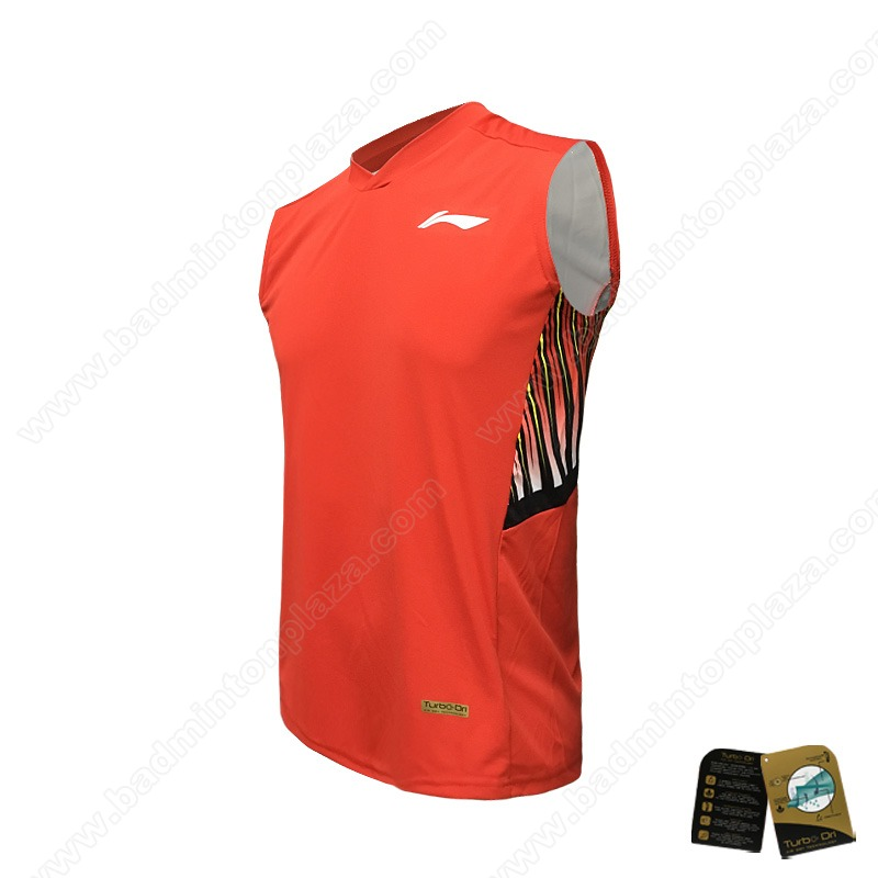 Li-Ning Thomas and Uber Cup 2018 Sleeveless Tee (AVSN283-3)