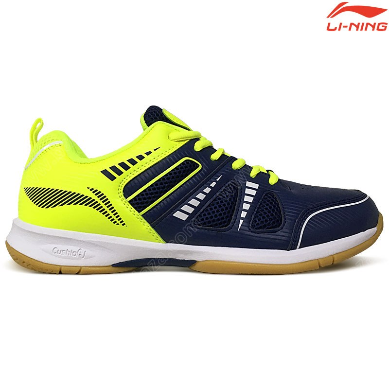 Li-Ning Badminton Shoes ATTACK III Blue/Yellow (AYTP075-10)