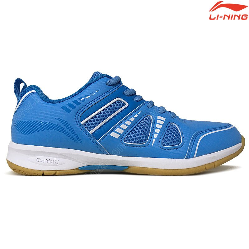 Li-Ning Ladies Badminton Shoes ATTACK III Blue/Turquoise (AYTP075-12)