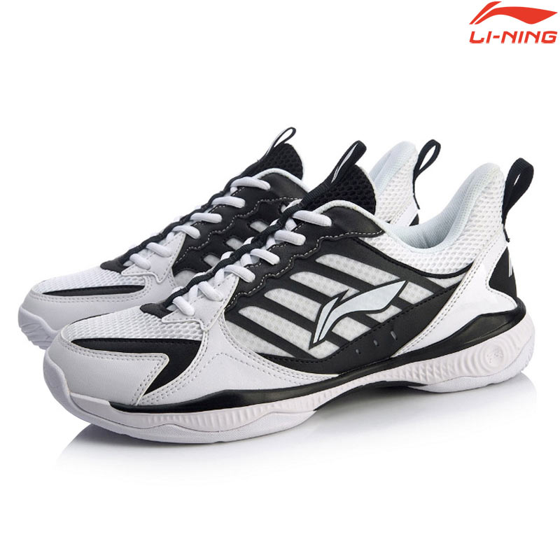 Li-Ning 2020 Badminton Shoes HALBERD II LITE Black/White (AYTQ019-1)