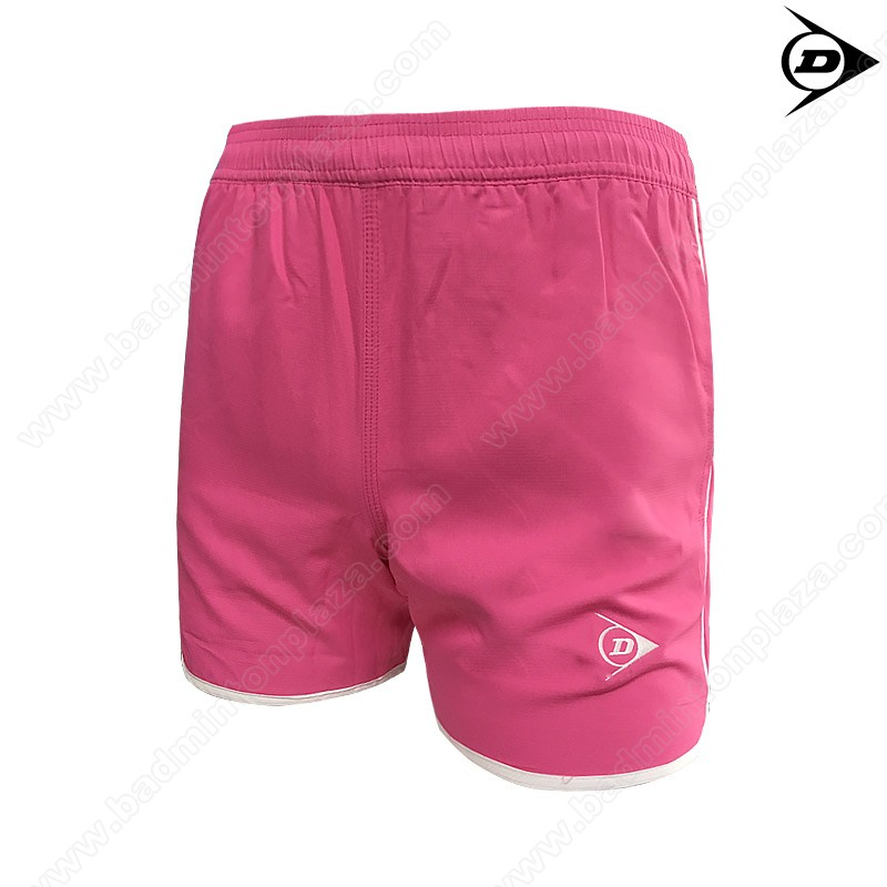 DUNLOP Ladies Sports Shorts Pink/White (DAP16SW01B)
