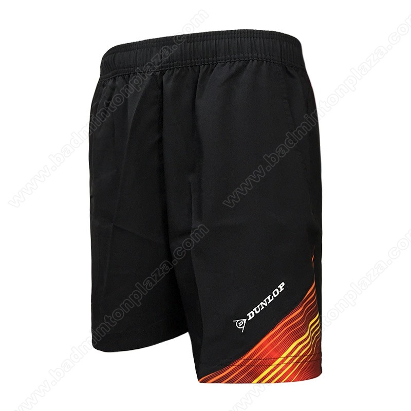 DUNLOP Sports Shorts Black/Red (DBP17SM01B)