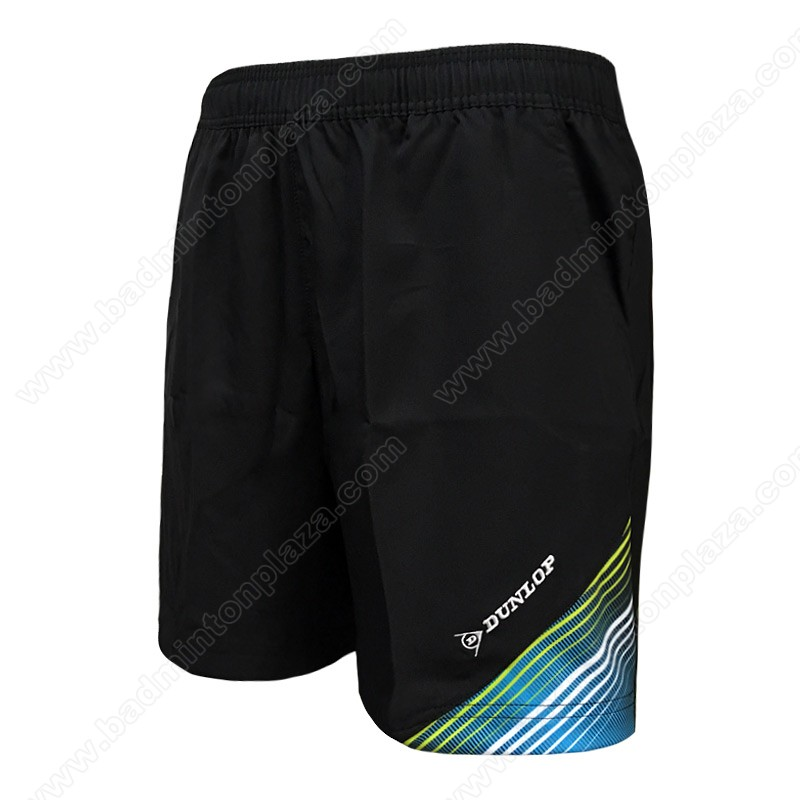 DUNLOP Sports Shorts Black/Blue (DBP17SM01C)