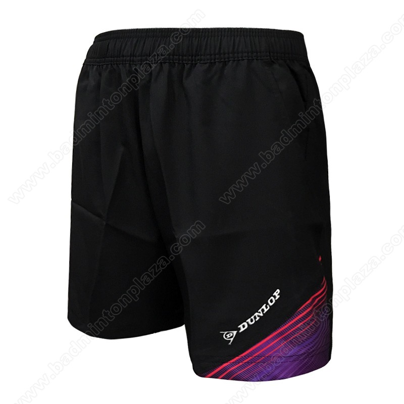 DUNLOP Sports Shorts Black/Purple (DBP17SM01D)
