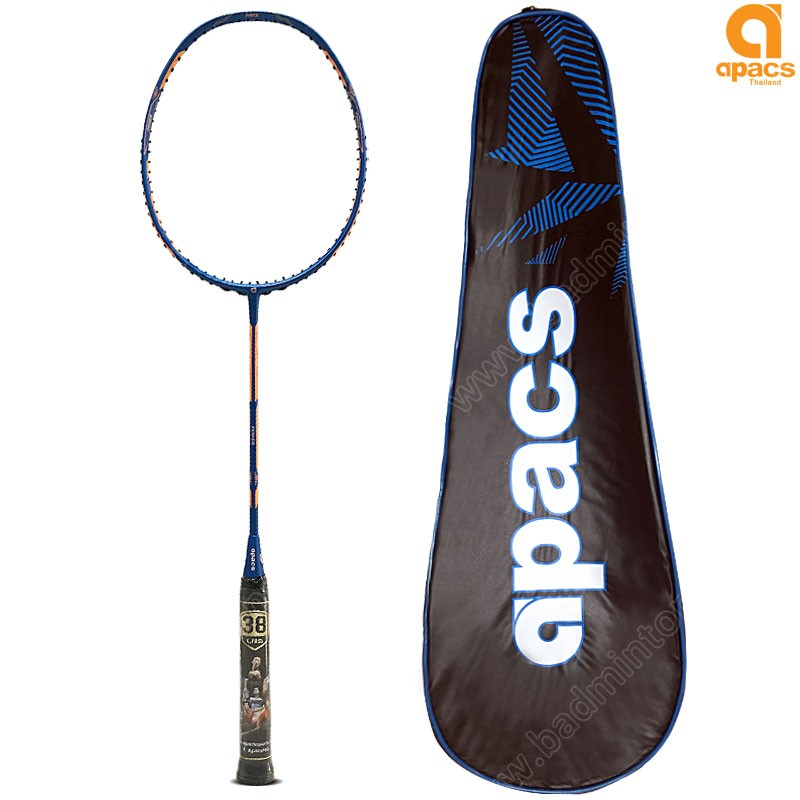 Apacs Badminton Racket Dual Power & Speed Blue