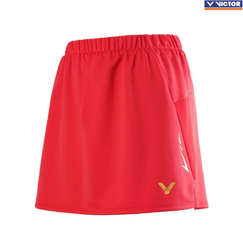 Victor 2020 Competition Skirt Red (K-01300D)