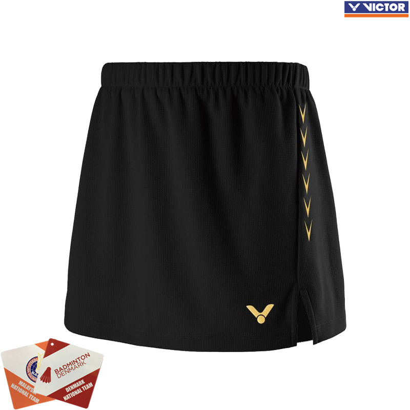 Victor 2019 Competition Skirt Black (K-91300C)