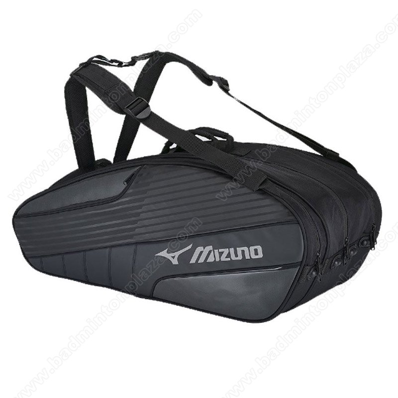 MIZUNO BLACK 3-COMP BAG (MZ-CP2007)