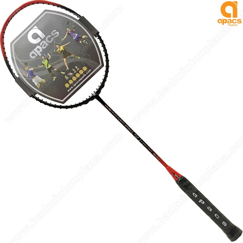 apacs Badminton Racket Nano Fusion Speed 722 Red