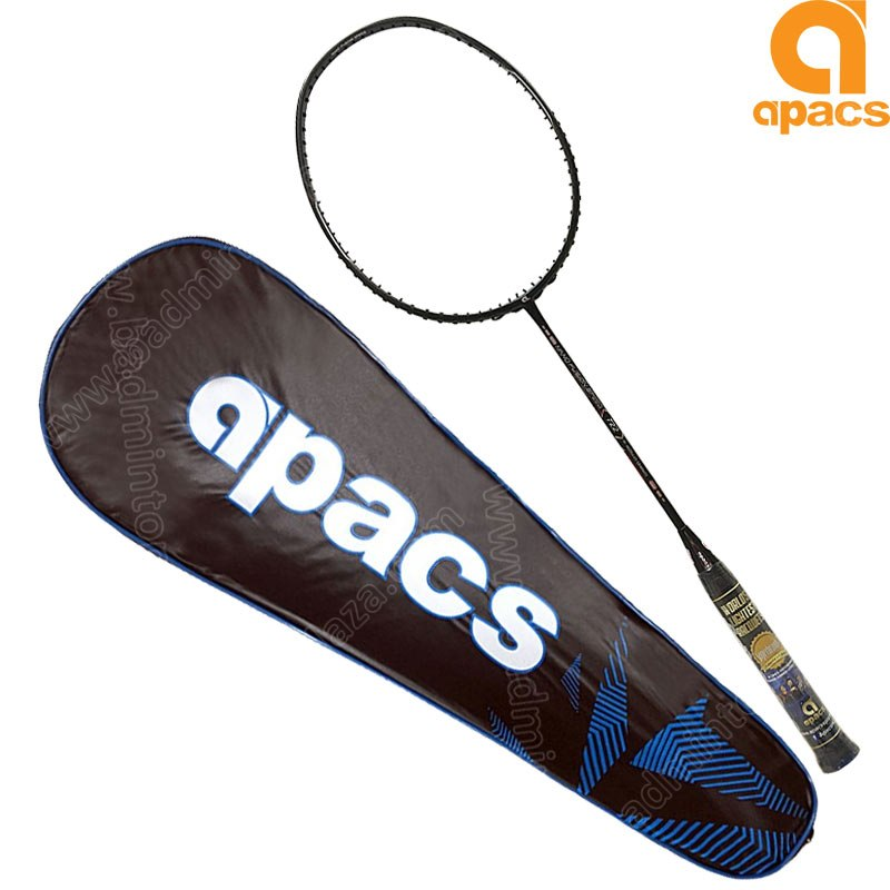 Apacs Badminton Racket Nano Fusion Speed 722 Black