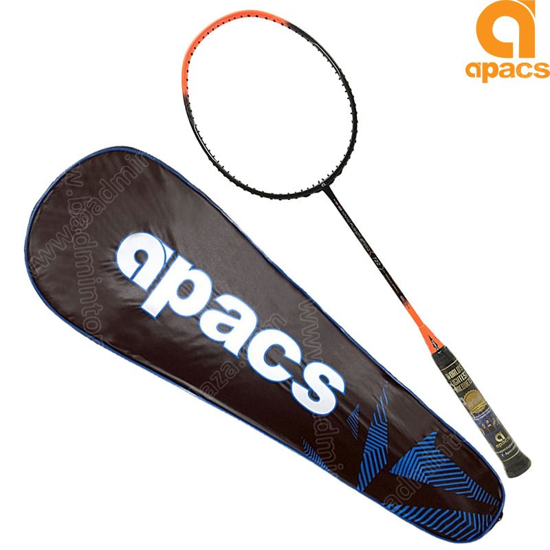 Apacs Badminton Racket Nano Fusion Speed 722 Orange
