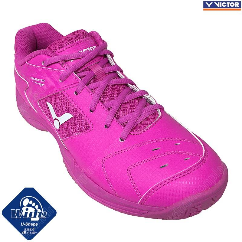 Victor Ladies Badminton Shoes Pink (P9200FTD-Q)