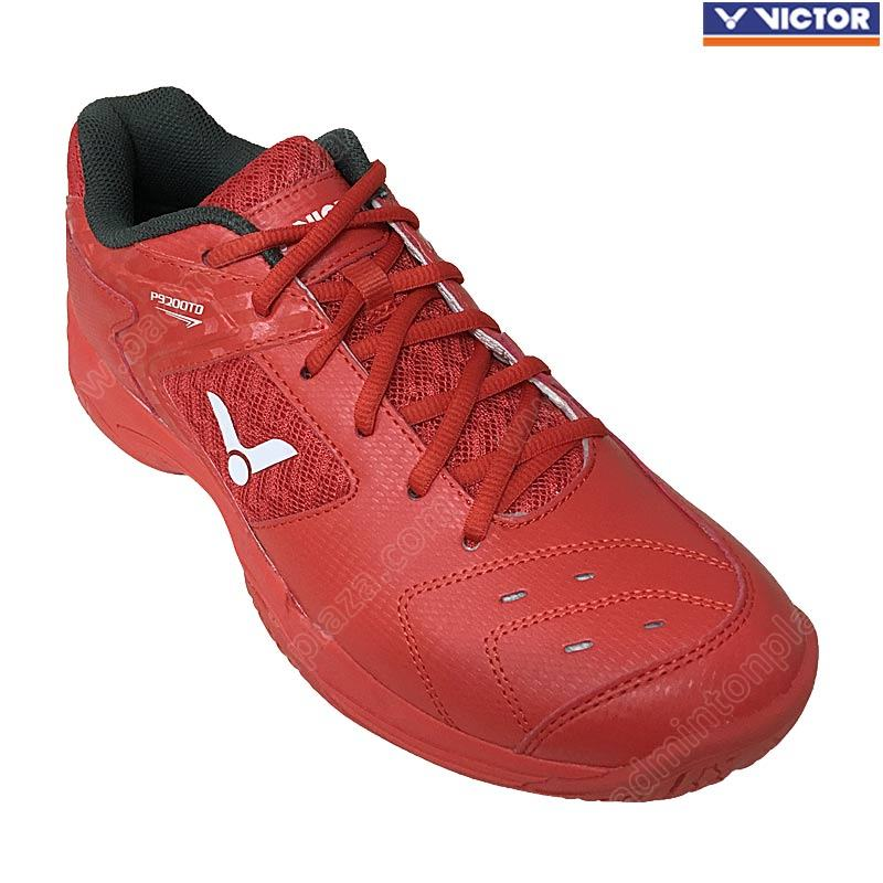 Victor Training Badminton Shoes Red (P9200TD-D)