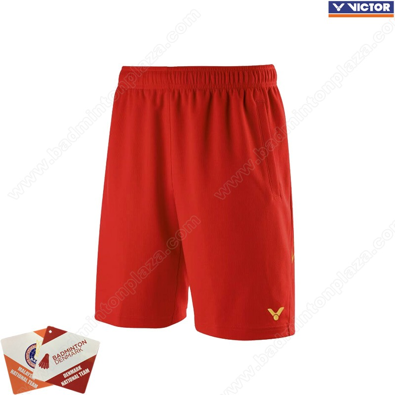 Victor 2019 Tournament Shorts Red (R-90200D)