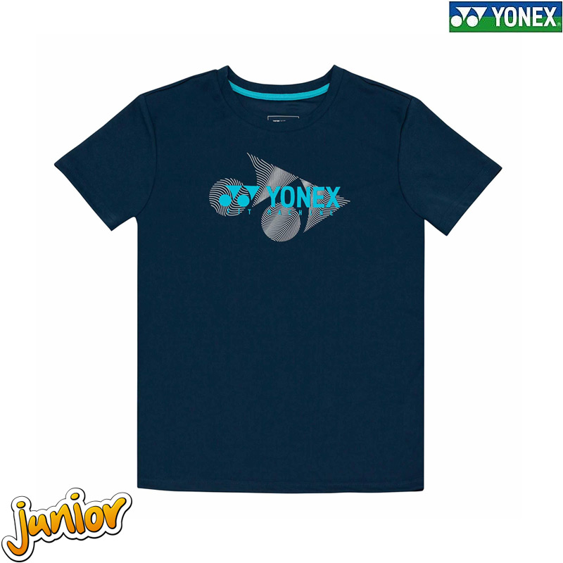 Yonex 1861 Kids Round Neck Tees DRESS BLUES (RJ-S0