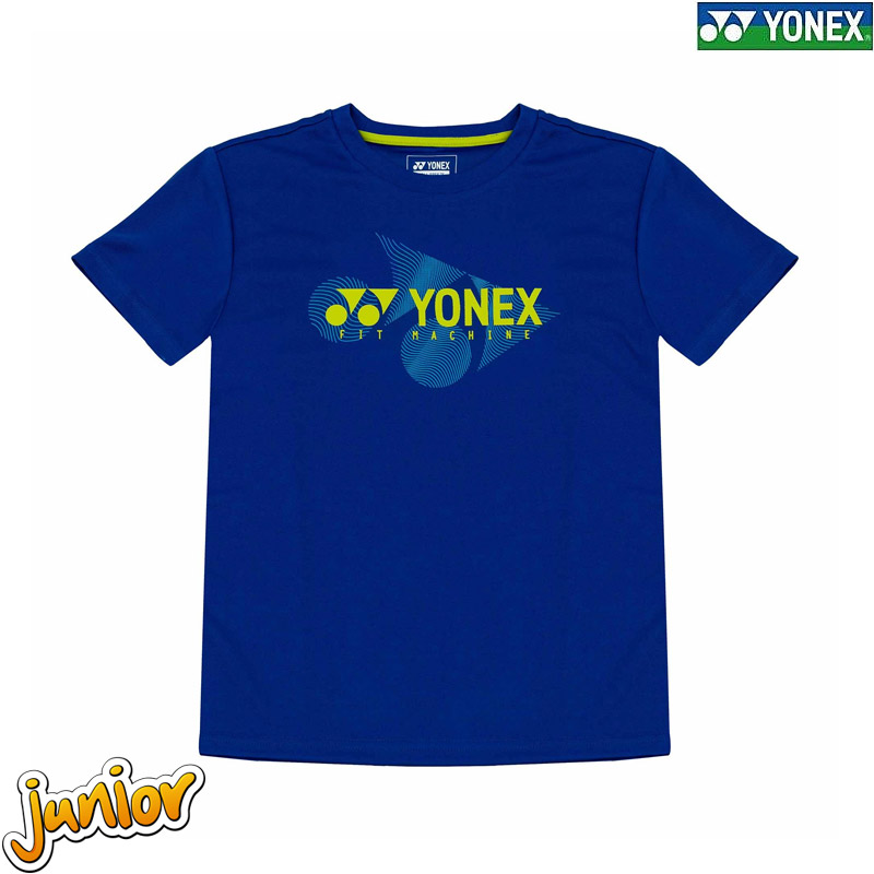 Yonex 1861 Kids Round Neck Tees TURKISH SEA (RJ-S0