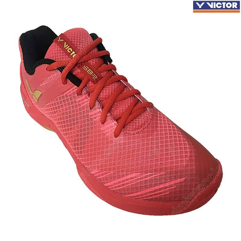 Victor Professional Badminton Shoes Red (S82-D)