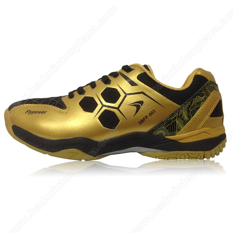 Flypower Badminton Shoes MENDUT GOLD (SBFP003-3)