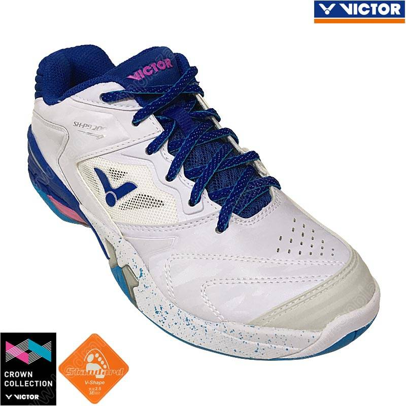 Victor 2020 Crown Collection Shoes White/True Blue (SH-P9200AB)