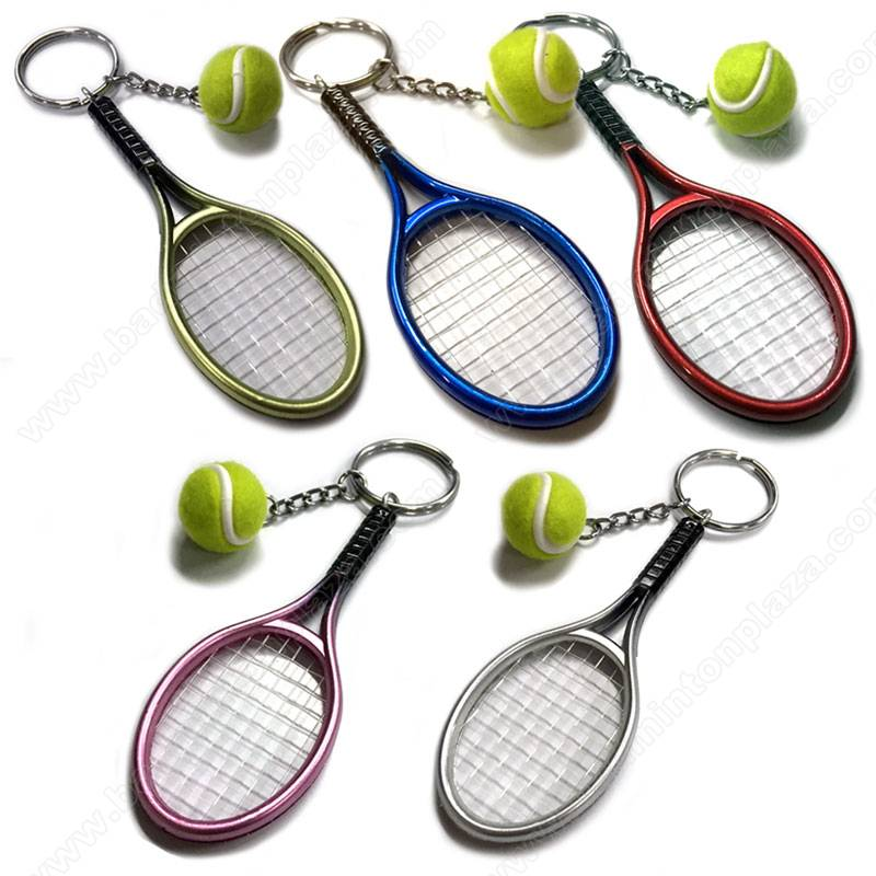 Fun Racquet & Tennis Ball Keychain (SKC2018-02)
