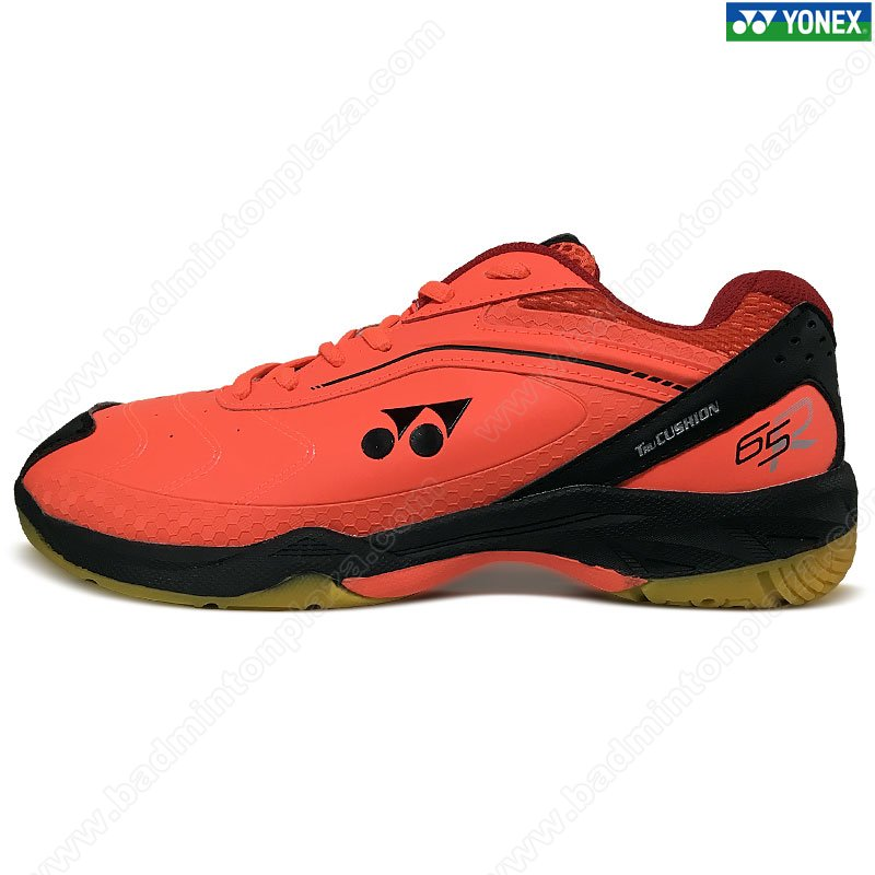 YONEX Tru Cushion Badminton Shoes Bright Red/Black (SRCR65R-RC)