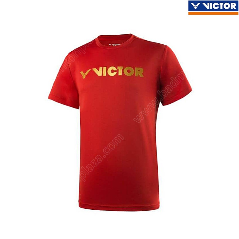 VICTOR 2019 Training T-Shirt Red (T-95006D)