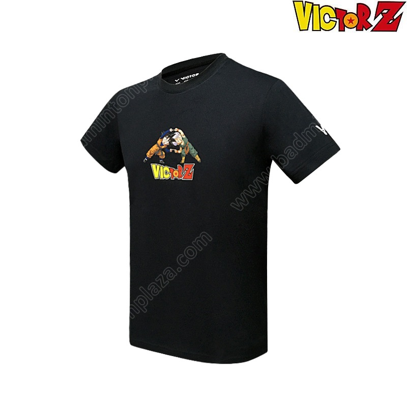 VICTOR X DRAGON BALL Z T-Shirt Black (T-DBZC)