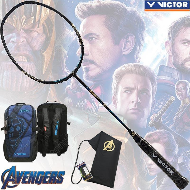 "VICTOR Limited Badminton Set of ""Avengers: Endgame"" Come Down To Earth (AVENGERS)"