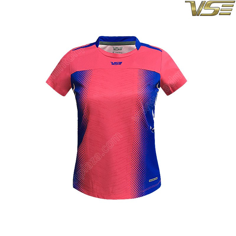 VS VENSON Ladies Sports Shirt Rose Red (VS3521R)