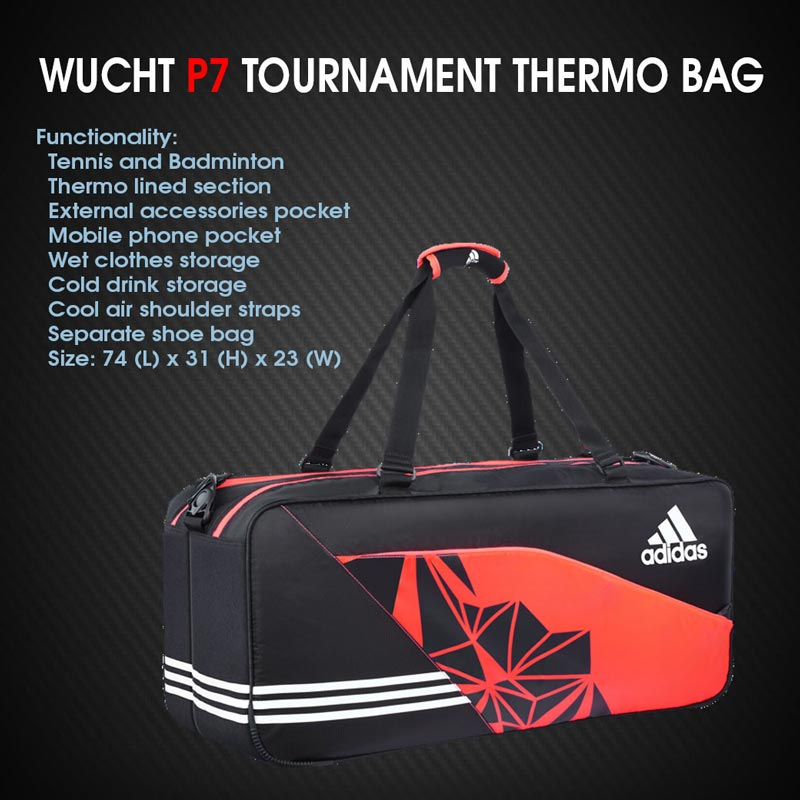 ADIDAS WUCHT P7 TOURNAMENT BAG